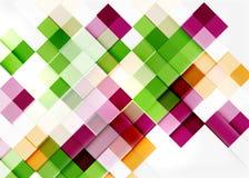 Square shape mosaic pattern design. Universal Stock Photos