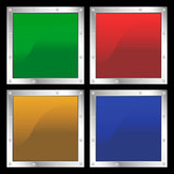 Square Shapes Stock Image