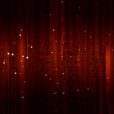 Square Shapes Red Background Royalty Free Stock Photo