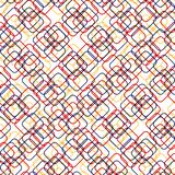 Square shapes with round corners. vector seamless pattern. simple color background. textile paint. repetitive background. fabric. Squares with round corners vector illustration