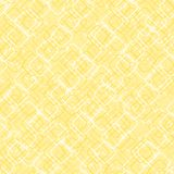 Square shapes with round corners. vector seamless pattern. simple yellow repetitive background. textile paint. fabric swatch. Squares with round corners. vector stock illustration