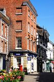 The Square Shops, Shrewsbury. Stock Photo