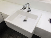 Square sink Royalty Free Stock Images