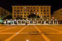 Square Sisto IV Savona stock image