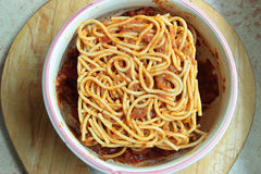 Square spaghetti Stock Photos
