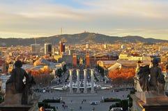 Square of Spain, Barcelona Stock Image