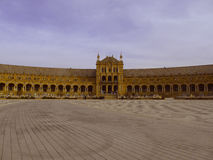 Square in Spain - Seville Stock Images