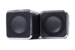 Square speakers Royalty Free Stock Image