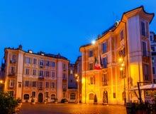 Rome. Square of St. Ignatius of Loyola. Stock Photo