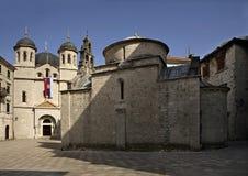 Square of st. Luke (Luka) in Kotor. Montenegro Royalty Free Stock Images