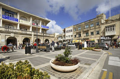 Square of St. Paul in Rabat. Malta Royalty Free Stock Photo