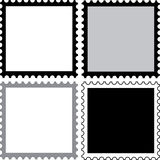 Square stamps to fill Royalty Free Stock Image