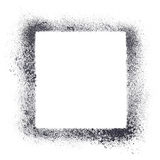 Square stencil frame Royalty Free Stock Images