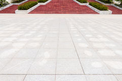 Square and the steps Royalty Free Stock Photo