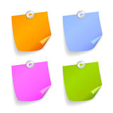 Square stickers Stock Images