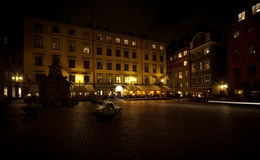 Square in Stockholm Royalty Free Stock Image