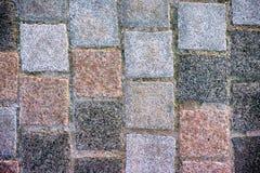 Square stone paving slabs. Stock Photos