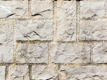 Square stone wall Royalty Free Stock Photo