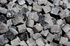 Square Stones Royalty Free Stock Photography