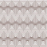 Square and swirl Stock Image