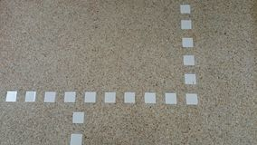 The square mosaic texture on floor background Royalty Free Stock Photo