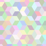 Square texture. Squeare texture with mixed random postel colours Royalty Free Stock Photo