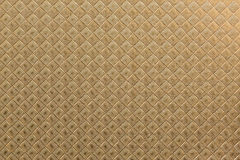 Square-textured golden paper Stock Image