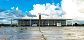 Square of the Three Powers in Brasilia, the capital of Brazil Stock Photos