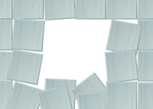 Square tile background Stock Photography