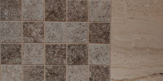 Square tile. Floor tile in high details Royalty Free Stock Images