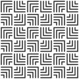 Square Tile. Geometric Seamless Pattern
