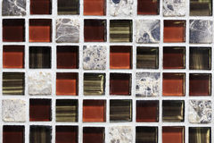 Square tile ornamental wall and floor Stock Photography