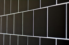Square tile wall Royalty Free Stock Photos