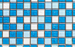 Square tiles background Stock Image