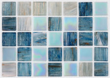 Square tiles in marble with effects Royalty Free Stock Image