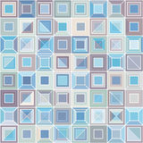 Square tiles pattern Royalty Free Stock Image