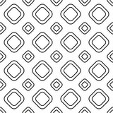 Square tiles seamless pattern Stock Images