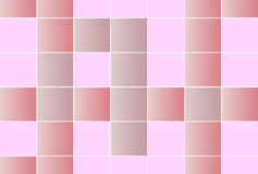 Square tiles in shades of pink Royalty Free Stock Photos