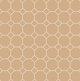 Square tilt with Octagon line pattern  . Stock Image