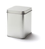 Square Tin Can Royalty Free Stock Images