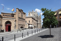 Square in Toledo, Spain Stock Photos