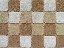 Square Towel Texture. Detail square pattern of a beige towel Stock Images