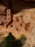 Square Tower House—Mesa Verde. Ruins of Square Tower House in Mesa Verde National Park, Colorado Stock Images
