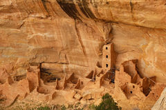Square Tower House, Mesa Verde National Park, Colorado Royalty Free Stock Photo