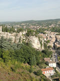 Square towers of the 12th c citadel, Royalty Free Stock Images