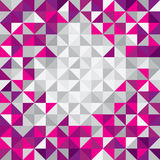 Square triangle modern background.Triangles in different colors. Royalty Free Stock Images