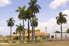Square of Trinidad, Cuba stock photos