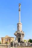 Square of Triumph of San Rafael in Cordoba Royalty Free Stock Photo