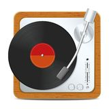 Square turntable Royalty Free Stock Photos