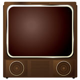 Square tv Stock Image
